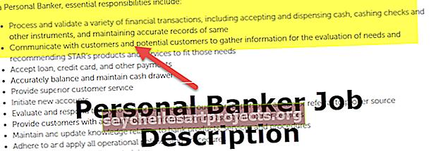 Περιγραφή εργασίας προσωπικού τραπεζίτη