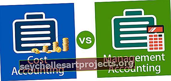 Λογιστική κόστους έναντι λογιστικής διαχείρισης | Κορυφαίες 9 διαφορές