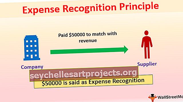 Αρχή αναγνώρισης δαπανών