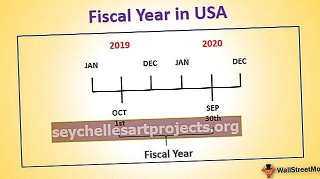 Οικονομικό έτος στις ΗΠΑ