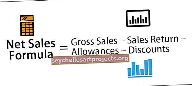 Τύπος καθαρών πωλήσεων