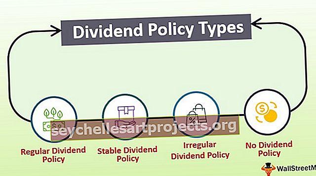 Dividendų politikos tipai