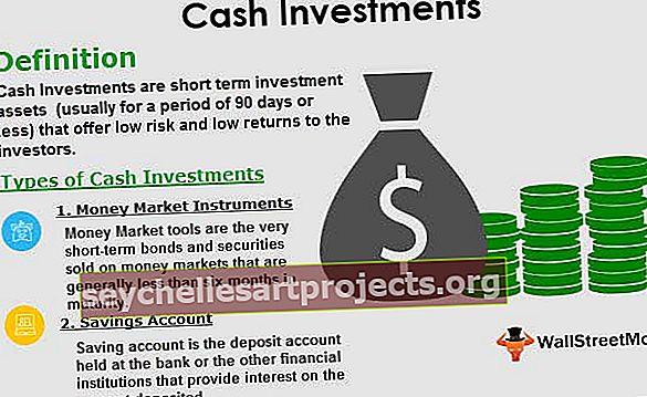 Επενδύσεις σε μετρητά
