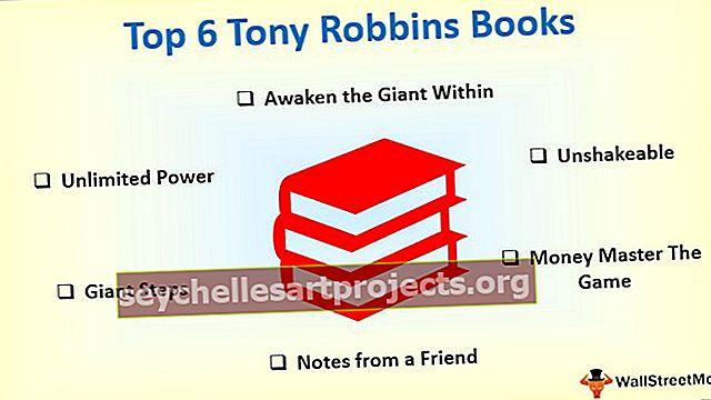 Κορυφαία 6 καλύτερα βιβλία Tony Robbins που πρέπει να διαβάσετε!