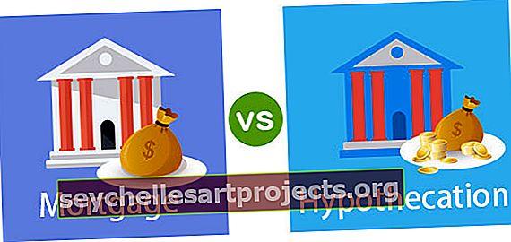Rozdíl mezi hypotékou a hypotékou