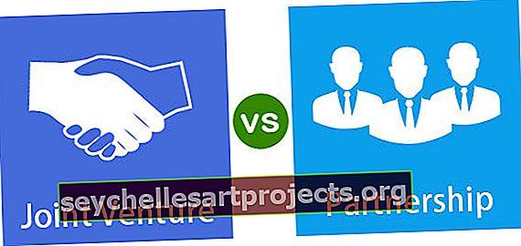 Rozdíl mezi společným podnikem a partnerstvím