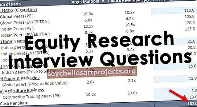 """""""Equity Research"""" interviu klausimai (su atsakymais)"""