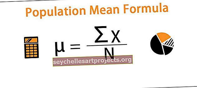 Vidutinė gyventojų formulė