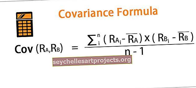 Kovariacijos formulė