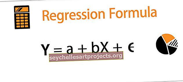 Regresijos formulė