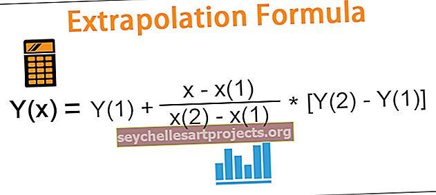 Ekstrapoliacijos formulė