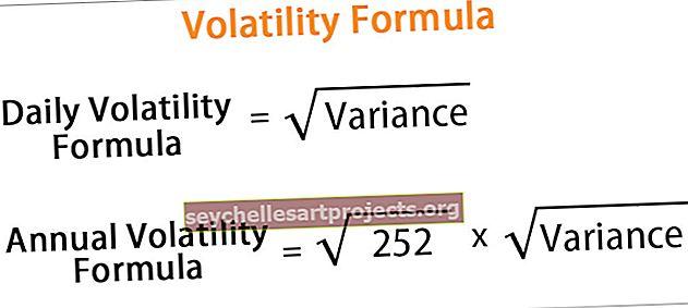 Nepastovumo formulė