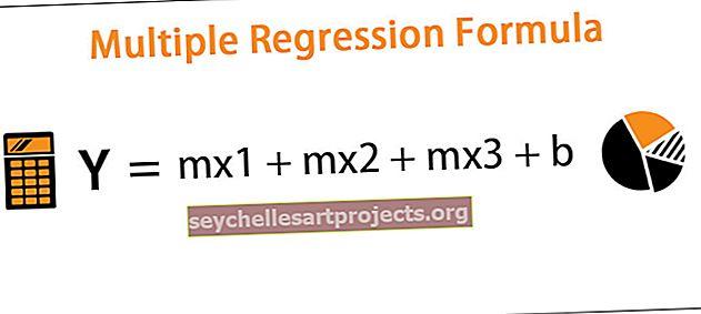 Daugkartinė regresijos formulė