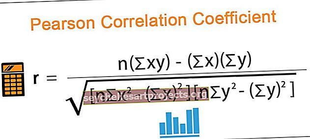 Pearsono koreliacijos koeficientas