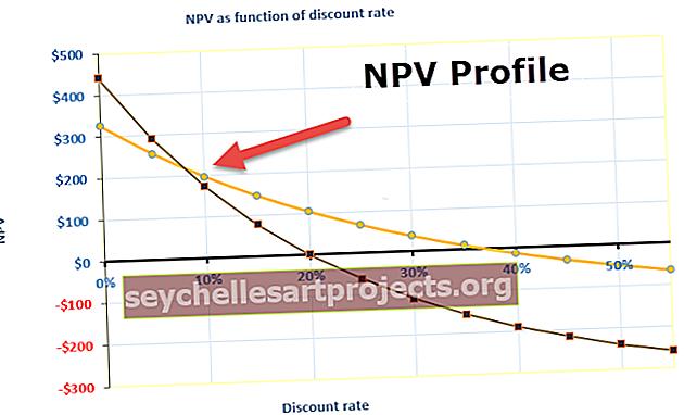 NPV profilis