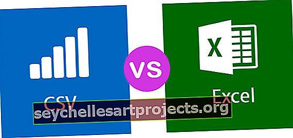 CSV vs Excel