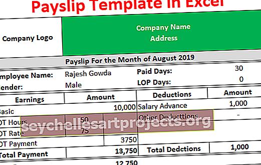Πρότυπο απόδειξης πληρωμής στο Excel