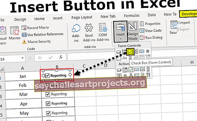 Εισαγωγή κουμπιού στο Excel