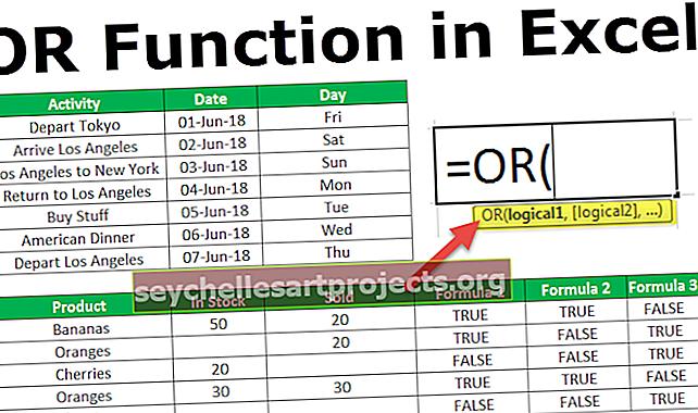 Λειτουργία Excel Ή
