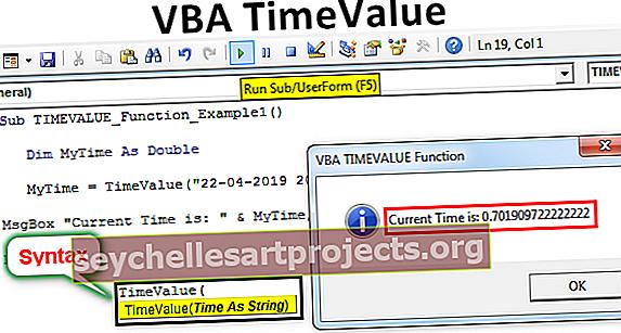 VBA TimeValue