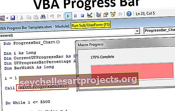 Thanh tiến trình VBA