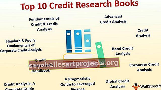 Parimad krediidiuuringute raamatud