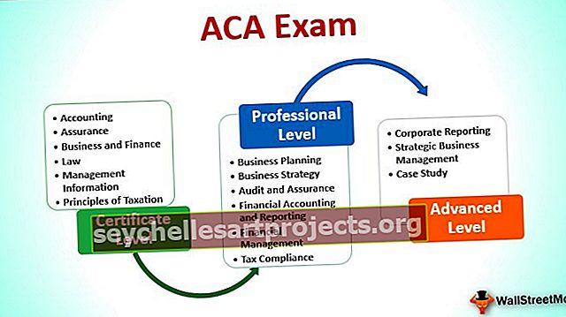 ACA eksam - kaasatud raamatupidaja juhend