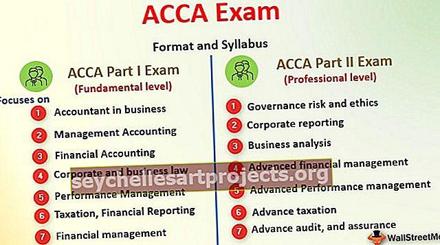 Täielik juhend ACCA eksamite jaoks algajatele