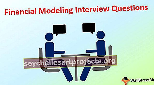 Dotazy týkající se finančního modelování (s odpověďmi)
