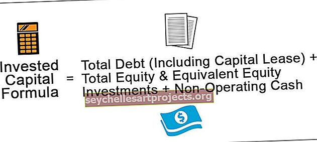 Vzorec investovaného kapitálu