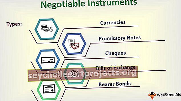Neuvoteltavat instrumentit