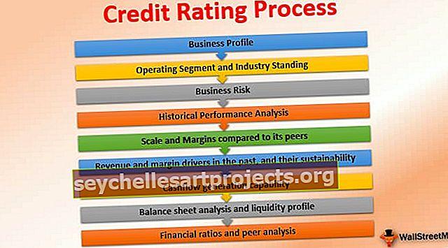 Luottoluokitusprosessi