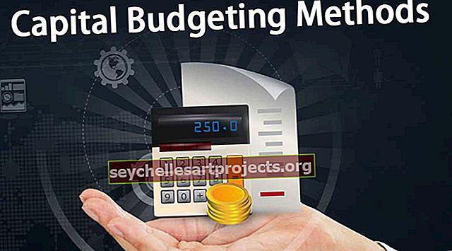Μέθοδοι προϋπολογισμού κεφαλαίου