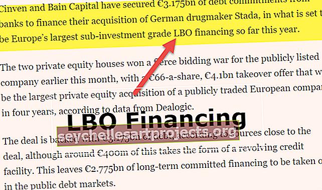 Χρηματοδότηση LBO