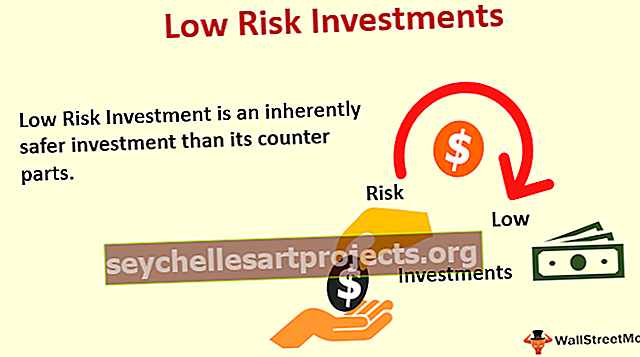 Επενδύσεις χαμηλού κινδύνου
