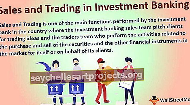 Πωλήσεις και συναλλαγές σε επενδυτικές τραπεζικές εργασίες