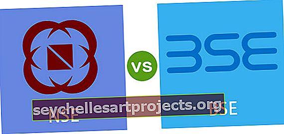 Διαφορές μεταξύ NSE και BSE