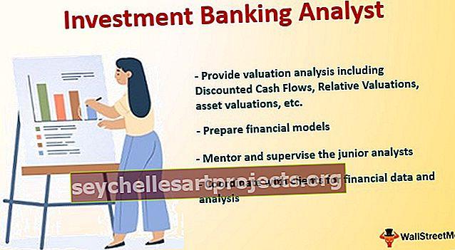 Investicinės bankininkystės analitikas