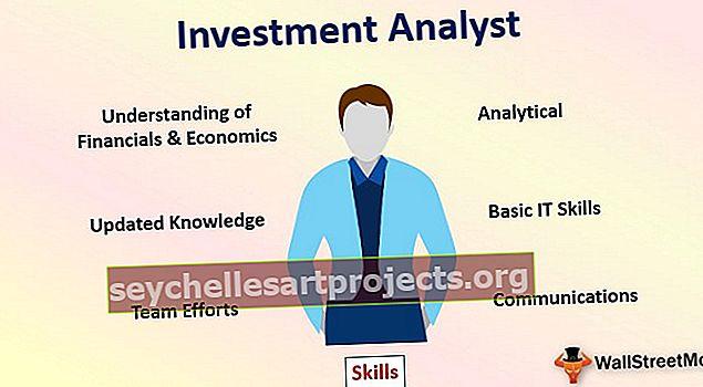 Investicijų analitikas