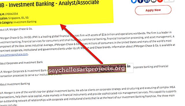 Investiční bankovnictví v Singapuru Seznam nejlepších bank | Plat | Pracovní místa
