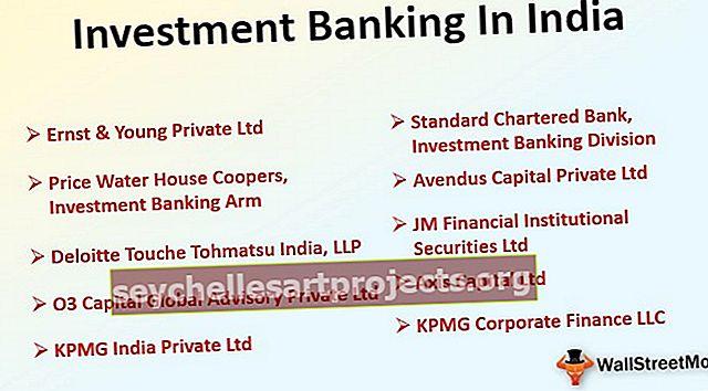 Investiční bankovnictví v Indii Seznam nejlepších bank | Plat | Pracovní místa