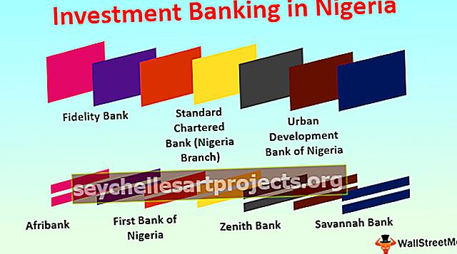 Investiční bankovnictví v Nigérii