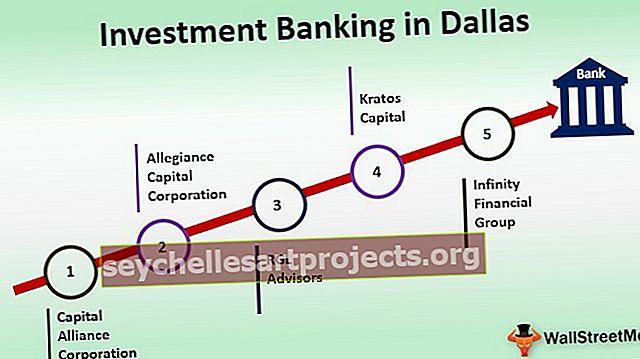 Investiční bankovnictví v Dallasu