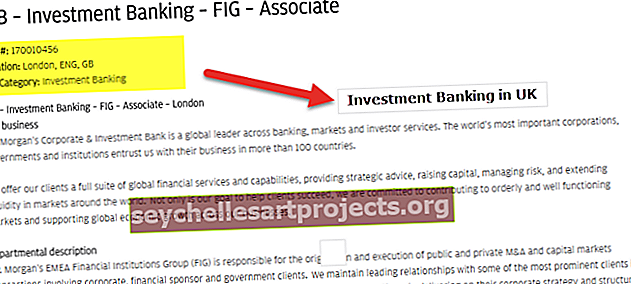 Investiční bankovnictví v Londýně (UK)